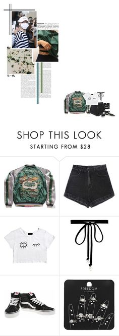"""Quotes By Rose"" by fantasy-lover-0719 ❤ liked on Polyvore featuring Afends, Joomi Lim, Vans, Topshop and ADZif"