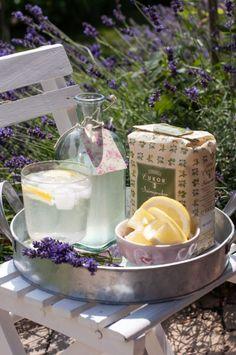 Levendulaszörp házilag - csakapuffin.hu Lavender, Lilac, Camembert Cheese, Paleo, Dairy, Drinks, Instagram, Food, Indigo