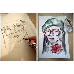 Portrait, Tattoos, Art, Art Background, Tatuajes, Kunst, Portrait Illustration, Japanese Tattoos, Tattoo