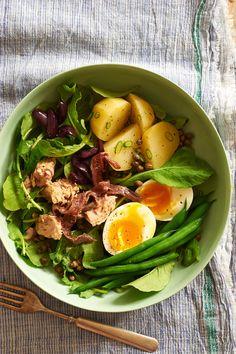 Trio of salad recipes from Melina Hammer for Anthology Magazine.