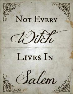 Find images and videos about witch, wicca and salem on We Heart It - the app to get lost in what you love. Salem Halloween, Halloween Quotes, Holidays Halloween, Happy Halloween, Halloween Crafts, Halloween Halloween, Halloween Phrases, Halloween History, Halloween Printable