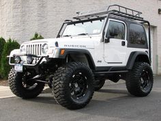 white 97 tj jeep - Google Search
