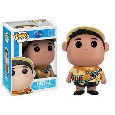 pixar's up russell pop! vinyl figure