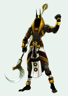 Collab: Anubis by kheleksul.deviantart.com