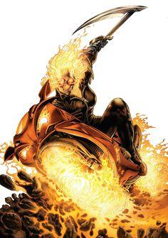 Ghost Rider (Alejandra Jones) by Arturo Lozzi