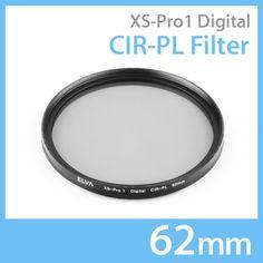 New Elva Camera Digital CIR-PL 62mm Filter Circular Polarizing Slim Filter #Elva