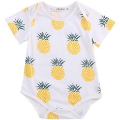 Pineapple Crazy Onesie - Baby Neutral