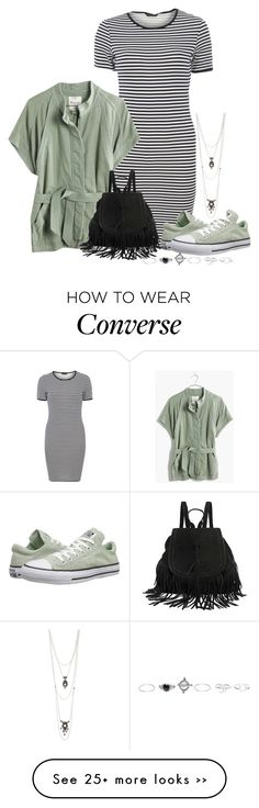 """""""Converse"""" by kimzarad1 on Polyvore featuring Wet Seal, Dorothy Perkins, Converse, Madewell and Charlotte Russe"""