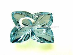 Genuine Swiss Blue Topaz Fancy Butterfly Cut Loose Gemstone
