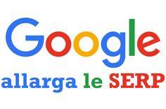 A partire dal 4 maggio 2016 Google ha aumentato la larghezza delle serp. Così abbiamo tag title e description con più caratteri e più efficaci.