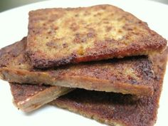 What's better than a pile of scrapple? Maybe a *taller* pile of scrapple? That's about it.