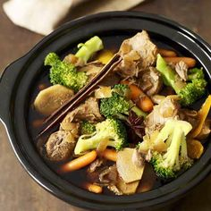 healthy crock pot recipes easy - Click For Recipe