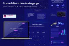 Bitcoin Indonesia, Bitcoin India, Adobe Xd, Photoshop Design, Blockchain, Cryptocurrency, Landing, Crypto Bitcoin, Templates