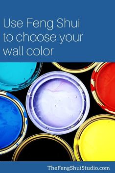 Use these Feng Shui tips to choose you next paint color inside or out. Start to create your Feng Shui Home today. Feng Shui Basics, Feng Shui Rules, Feng Shui Art, Feng Shui Tips, Top Paint Colors, Wall Colors, Feng Shui Studio, Feng Shui Bedroom Tips, Feng Shui History