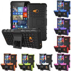 ae67362cdb4 Stöttåligt skal TPU till Nokia Lumia 535 inbyggt ställ. ALLTID FRI FRAKT  hos www.