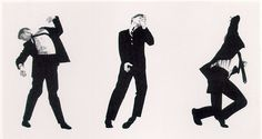 Robert Longo. I have been into this since I saw these paintings in Patrick Bateman's apartment in American Psycho.