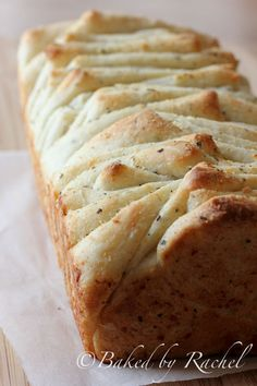 Garlic, Parmesan and Herb Pull Apart Bread