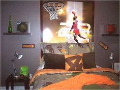 Boys Room Ideas Sports Theme boys room, sports graffiti room, teen boys bedrooms, boys bedrooms