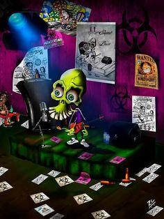 #skull #skullbass #basssolo #cartoon #cartunista #poçascrazycity #atwork #Romuleque #mysurrealworld #artwork #lifestyle #conceptart #conceptartist #Poções #artworks_artist #insight #digitalpainting