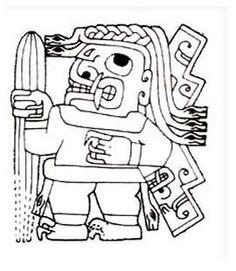 """SAN PEDRO """"Los sacerdotes Chavin utilizaban el cactus de San Pedro """"Ayahuasca"""", dada sus propiedades alucinógenas, son a menudo representadas en las imágenes talladas, por ejemplo en la imagen de un dios que lleva el cactus en la mano como un palo, imágenes que representan figuras humanas con fugas de mucosidad de la nariz. Las sustancias alucinogenas contenidas en los cactus ponía a los sacerdotes en trance, por lo tanto """"más cerca de los dioses""""."""