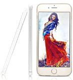 This iPhone 6 skin is completely see-through, showing only the elegant Apple design underneath. http://www.amazon.com/iPhone-Crystal-Protector-Lifetime-Warranty/dp/B00PV0C246/ref=sr_1_61?ie=UTF8&qid=1425334909&sr=8-61&keywords=iphone+6+clear+case