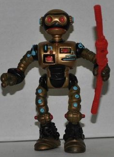 TMNT Teenage Mutant Ninja Turtles FUGITOID Vintage Action Figure