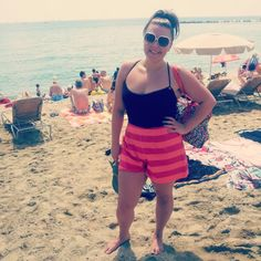 Asos shorts,  Miss Sixty top & Marc Jacobs sunnies #barcelona