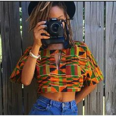 Editor's #Style Picks - Great ways to rock #Kente tops this month. #ZenMagazine | www.zenmagazineafrica.com