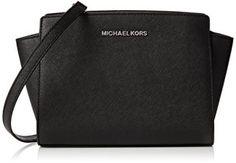 Michael-Kors-Damen-Md-Messenger-Schultertasche-mediano