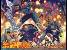 Ultra Boys, Saturn Girl, Dr Fate, Jon Kent, Superman, Batman, Monster Boy, Brian Michael Bendis, Legion Of Superheroes