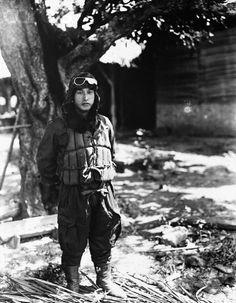 Japanese kamikaze pilot - NA008379 - Rights Managed - Stock Photo - Corbis