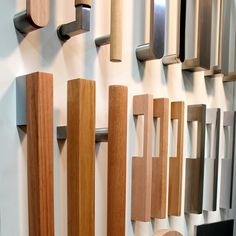 Timber Pull Handles - Sleek and distinctive in design, this attractive timber pull features a cut-out hand-grip that increases practicality and ease of use whilst giving an expressive style to all doors. #architecture #timber #wood