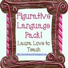 This Figurative Language Pack is perfect for teaching your students about the terms simile, metaphor, alliteration, hyberbole, personification, all...$