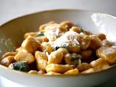 Pumpkin Ricotta Gnocchi with Butter Sage Sauce