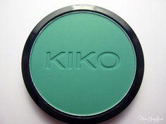 KIKO Infinity Eyeshadow 263 Mat Clover Creen Frontalansicht