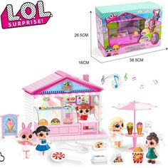 Baby Play House, Ice Cream Car, Doll Storage, House Games, Dessert, Lol Dolls, Action Figures, Action Toys, Toys For Girls