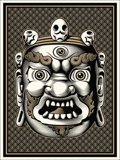 """THE CRYPTIK MAHAKALA The Mahakala Buddha is a Dharmapala, or """"Protector of Dharma,"""" and is revered by both Hindus and Buddhists' alike. In Hinduism, Mahakala is a name of Shiva. In Mahakala's main goal is to destroy the passions of the mind and to protect the faithful."""