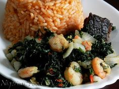 Nigerian Food Recipes TV| Nigerian Food blog, Nigerian Cuisine, Nigerian Food TV, African Food Blog: Vegetable & Prawn Stir-Fry For Jollof Rice,Plantains and more