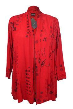 Product Details - J163L-M Jacket Lulu Long Sleeve Oriental Red