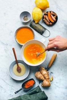 Every Morning: hot lemon water with ginger, cayenne, tumeric and honey #health #turmeric #ginger