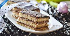 Domowy batonik Knoppers Nutella, Tiramisu, French Toast, Ale, Breakfast, Ethnic Recipes, Food, Sweets, Bakken