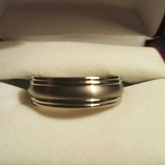 Size 8 Mens Wedding Band Or Just A Ring This Is A A Beautiful Size
