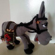 #donkey #prettydonkey #amigurumi #handmadetoys #organictoys #organikoyuncak #crochet #knitting by arfeceorguler