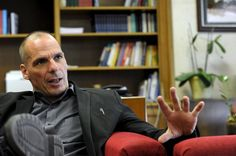 Greek finance minister Varoufakis says what is being done to Greece is 'terrorism'