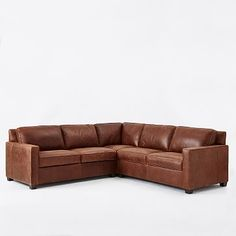 Build Your Own - Henry® Leather Sectional Pieces #westelm West Elm