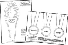 Olympics Coloring Pages and link to coloring pages for 50 flags Kids Olympics, Special Olympics, Summer Olympics, Olympic Idea, Olympic Sports, Olympic Games, Pre-school Books, Vive Le Sport, Olympic Crafts