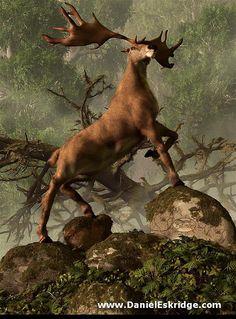 The Irish Elk by deskridge, via Flickr