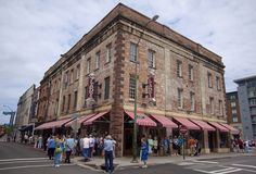 Lady and Sons in Savannah. Paula Deen's restaurant. It was worth going to once for the novelty. And the butter cake.