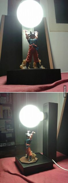 Plot twist for the Dragon Ball Z Goku Lamp