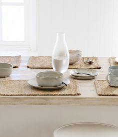 Willow Weave Placemats - Natural | Armadillo&Co